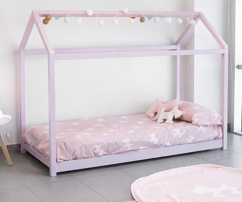 cama casa niña montessori precios