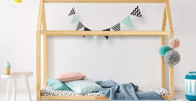 cama casita montessori niños barata