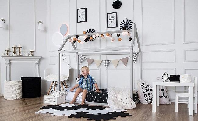 comprar cama casita montessori precios