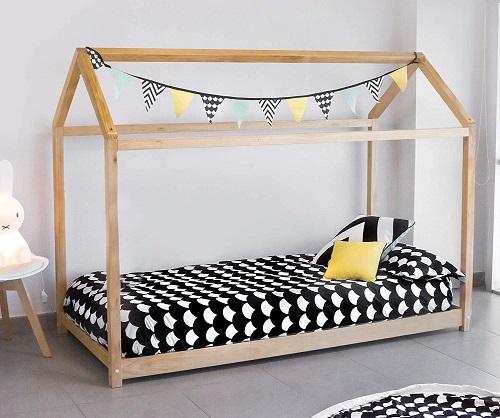 tama/ño cama 90*200 Estructura Tipi de Madera