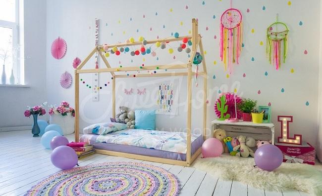 ofertas cama casa montessori comprar