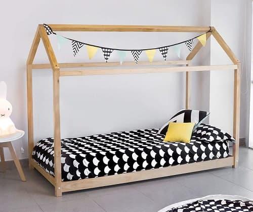 ➡️ como hacer una cama montessori casita